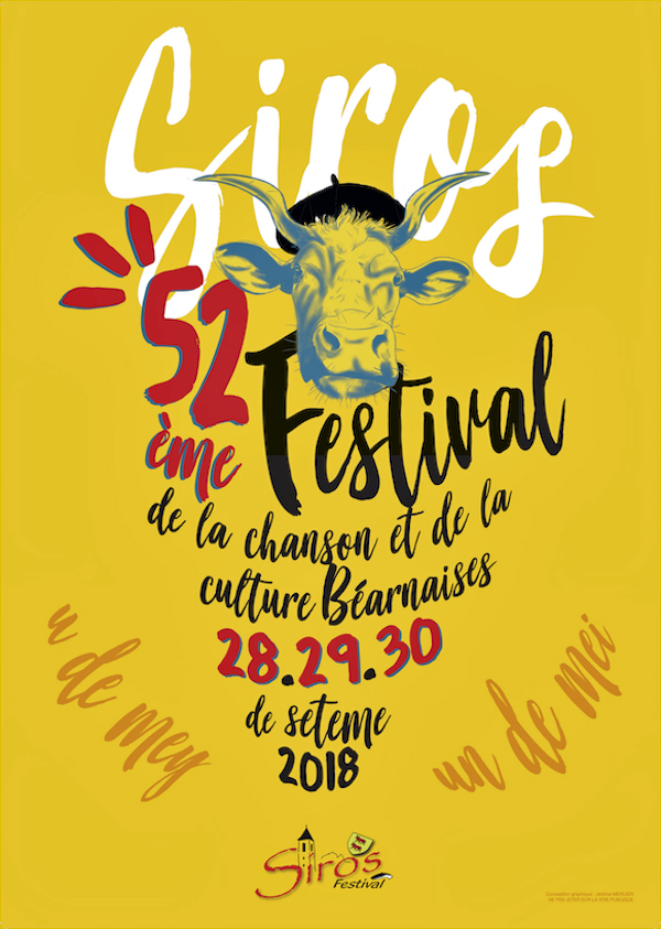 Affiche Festival Siros 2018 Site