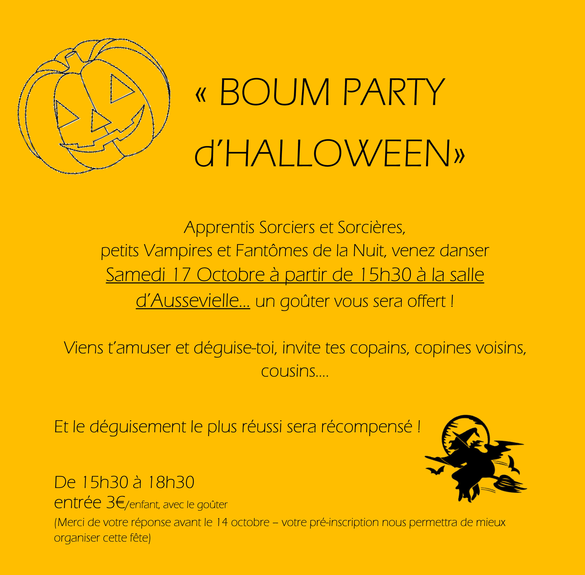 BOUM PARTY HALLOWEEN reduit