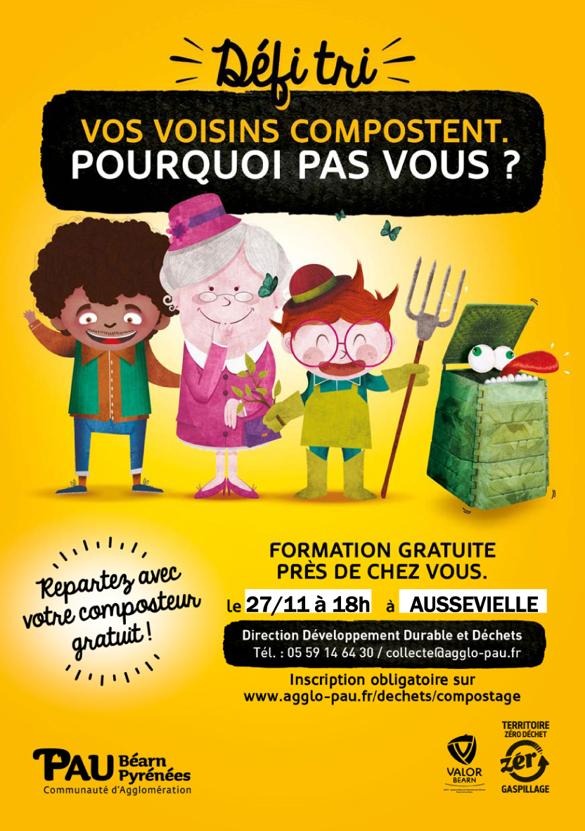 FLYER Compostage Aussevielle 27 11 2018